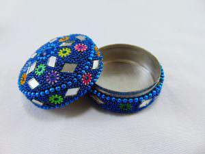 Potinho decorativo - azul
