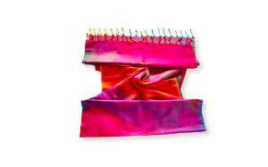 Lenço indiano de seda com viscose