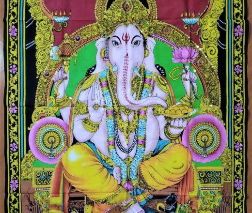 painel de Ganesha tecido