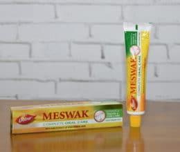 meswak pasta de dente