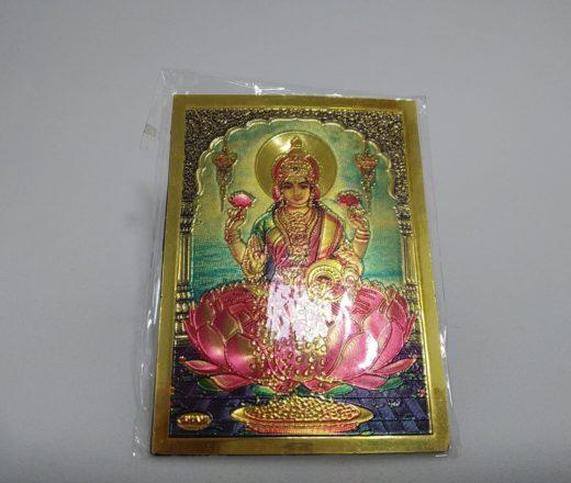 imã de geladeira de Lakshmi
