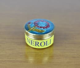 Perfume indiano sólido de latinha - Aroma Neroli