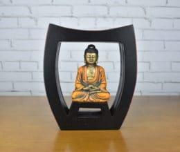 Luminária de velas com Buda
