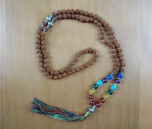 japamala rudraksha com 7 chakras