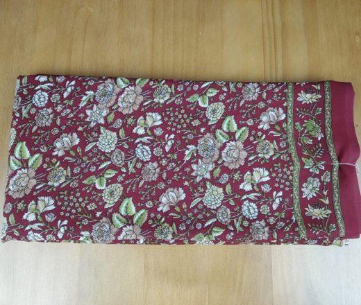 sari indiano floral