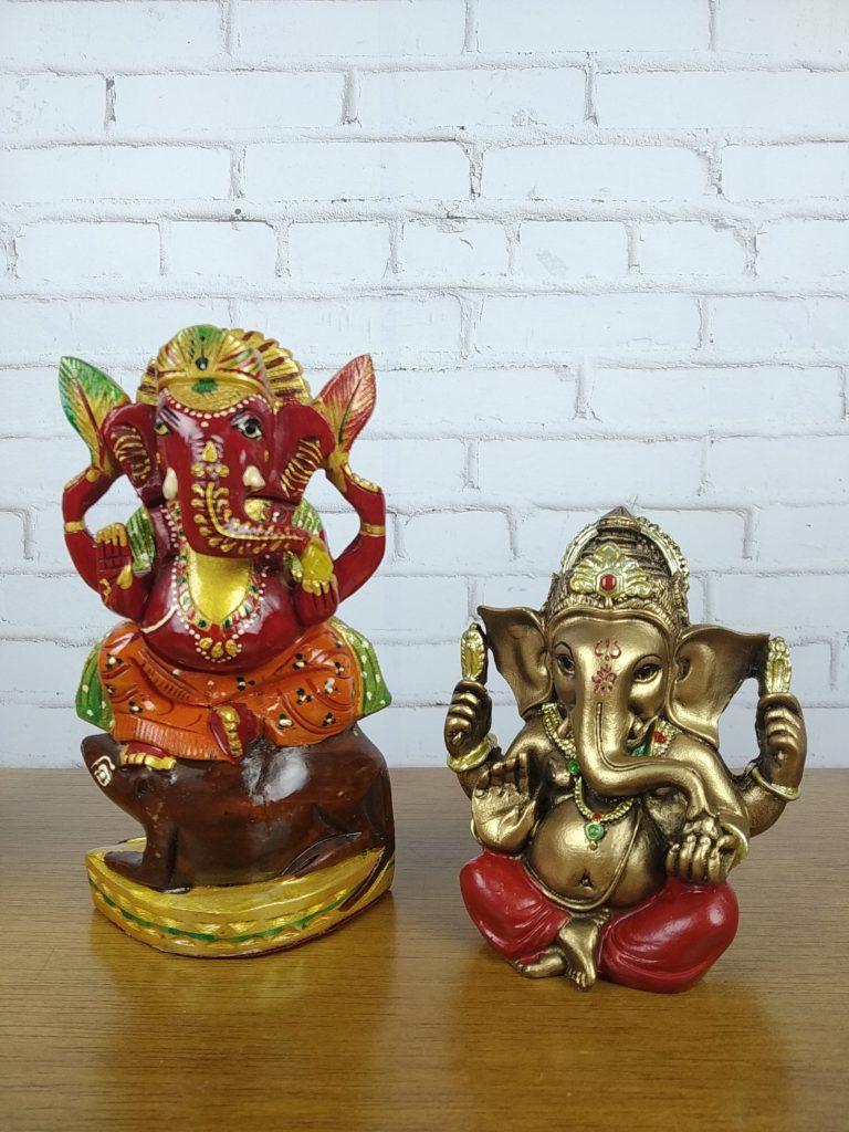 estátuas de Ganesha