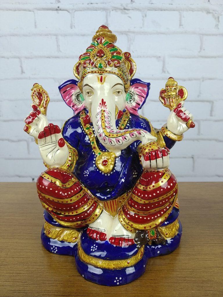 Lord Ganesha metal esmaltado