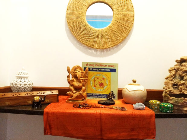 altar com Ganesha