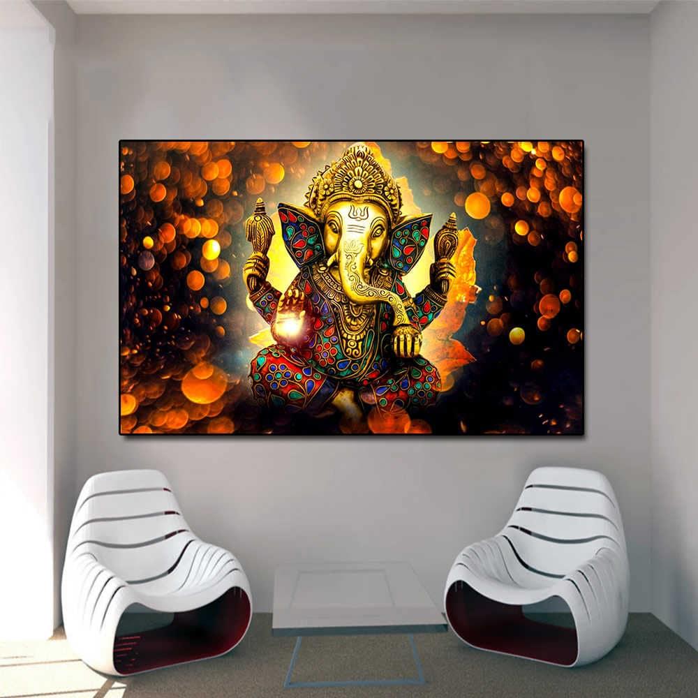 Painel decorativo de Ganesha