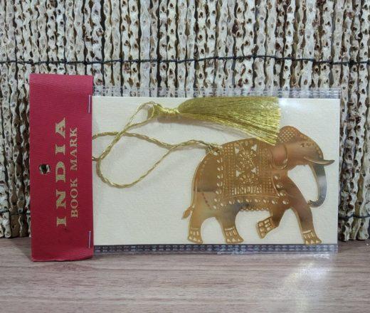 marcador de página de elefante