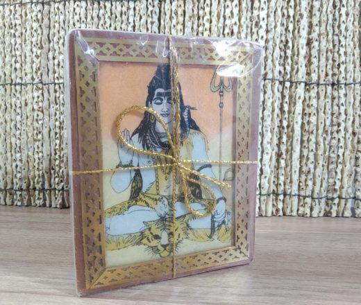 caixa de chá indiana de Shiva