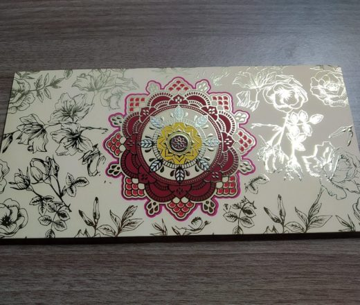 envelope de carta indiano mandala