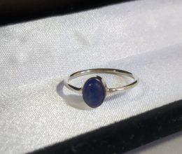 anel de prata indiana