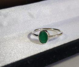 anel indiano ônix verde