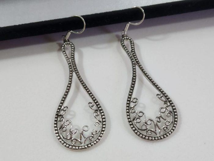 brinco indiano de prata
