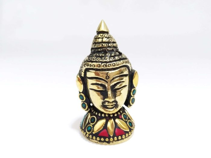 incensário mosaico de pedras Buda