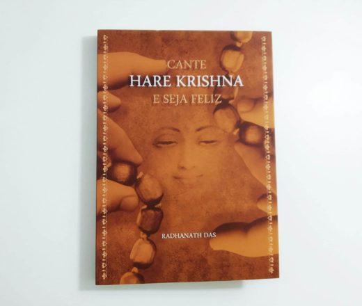 livro Cante Hare Krishna e Seja Feliz
