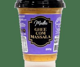 manteiga Ghee com Massala