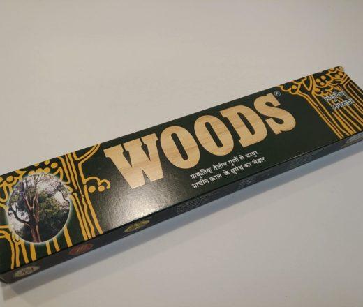 incenso Woods agarbathi