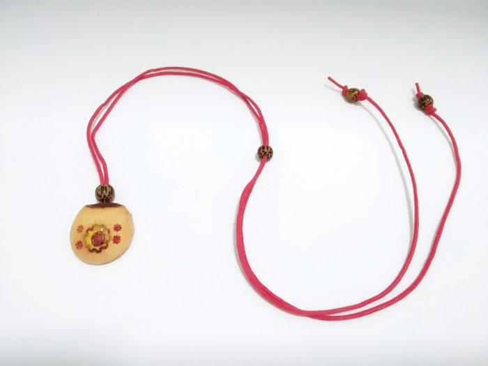 colar aromático de cerâmica