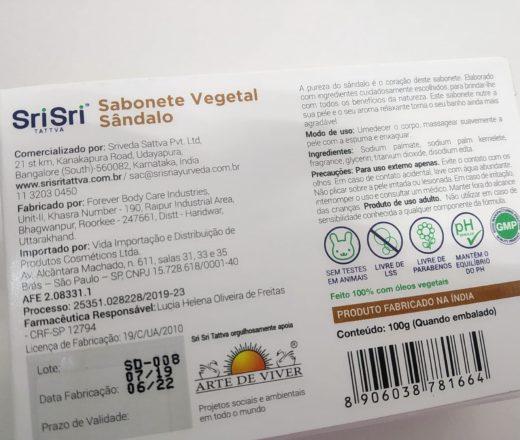 sabonete vegetal sem parabenos