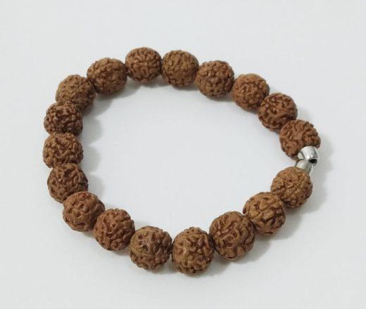 pulseira indiana de Rudraksha