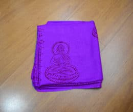 chadar de oração com Buda