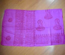 lenço indiano de oração