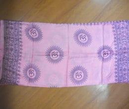 lenço indiano com mantras