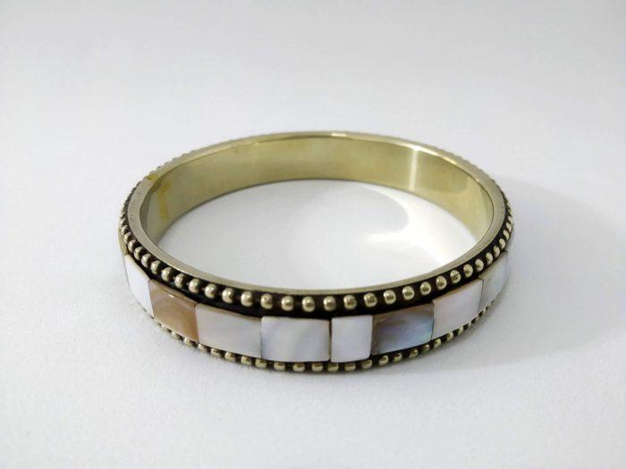 pulseira indiana de madrepérolas