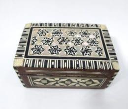 porta jóias indiano de madrepérolas