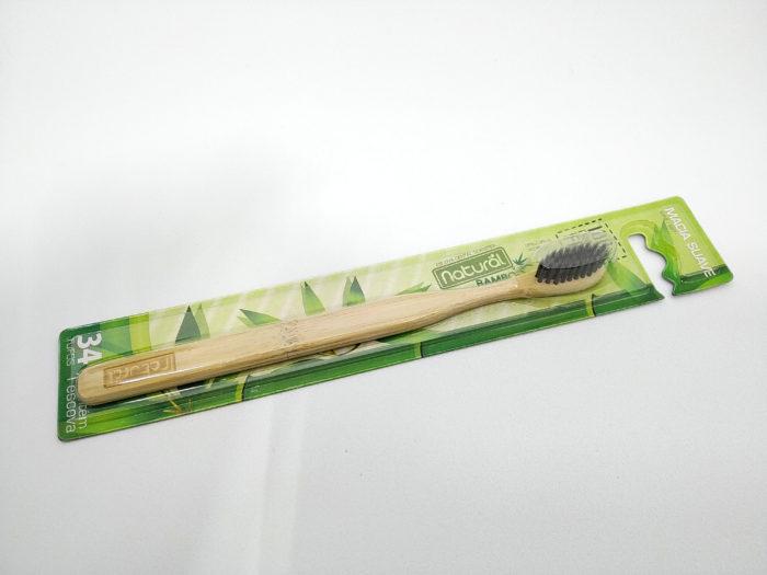 escova dental de bamboo