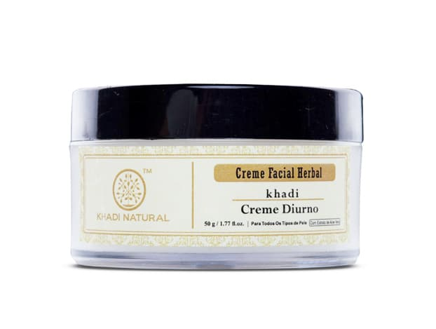 Creme Diurno Facial Herbal da Khadi Natural