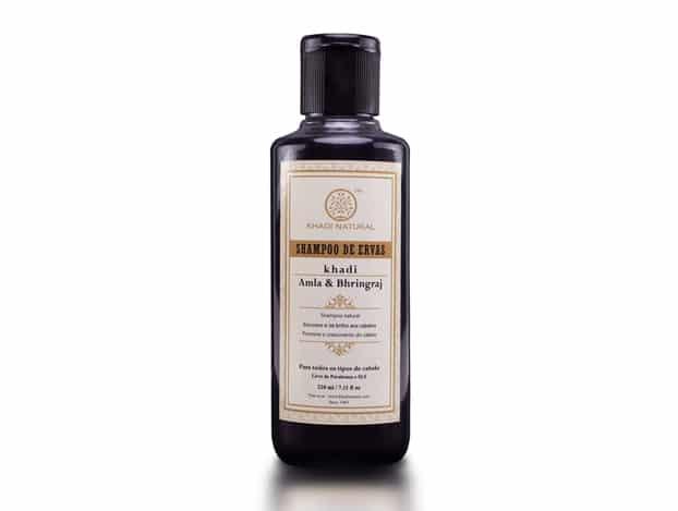Shampoo Khadi Natural Ayurvédico Amla & Bhringraj
