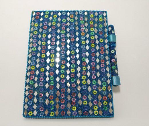 caderno indiano artesanal