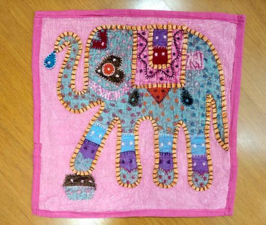 almofada indiana de elefante