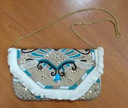 bolsa clutche indiana