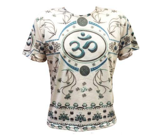 camiseta com símbolo do OM