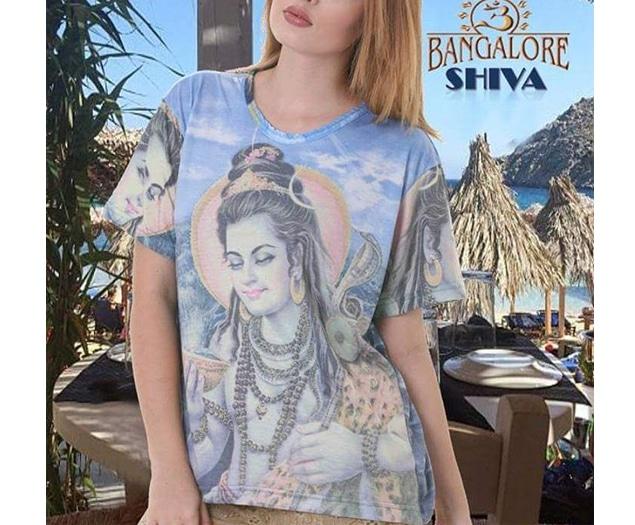 camiseta de Shiva unisex