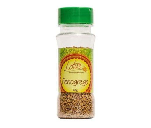 feno grego em grãos