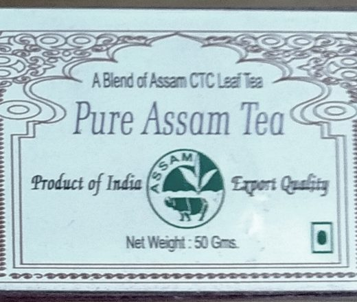 pure assam chá