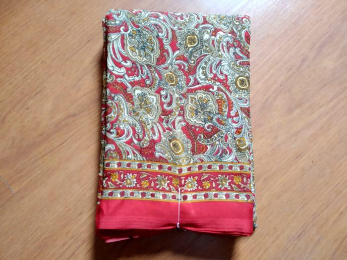 sari vermelho