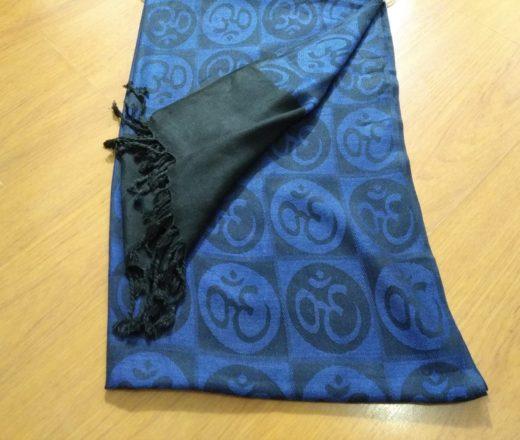 lenço indiano de OM