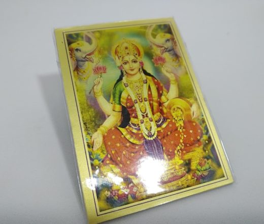ímã de geladeira de Lakshmi