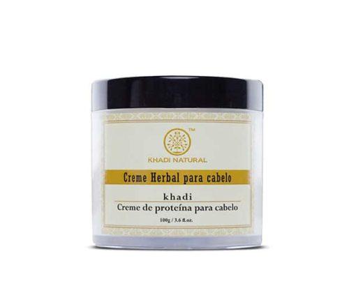creme de hidratação proteínas para os cabelos Khadi Natural