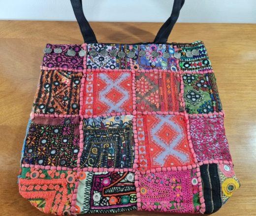 bolsa indiana patchwork