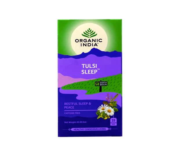 chá Organic India Tulsi Sleep