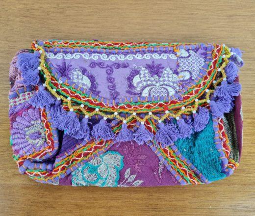 bolsa indiana banjara lilás