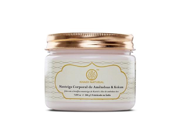 manteiga corporal super hidratante Khadi Natural