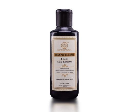 Shampoo Amla e Reetha da Khadi Natural
